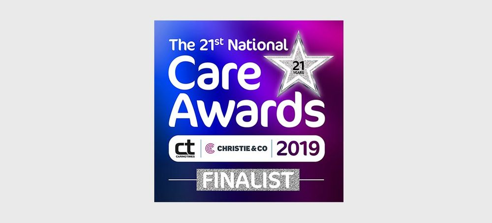 Stroud Lodge nominated for a National Care Award!!