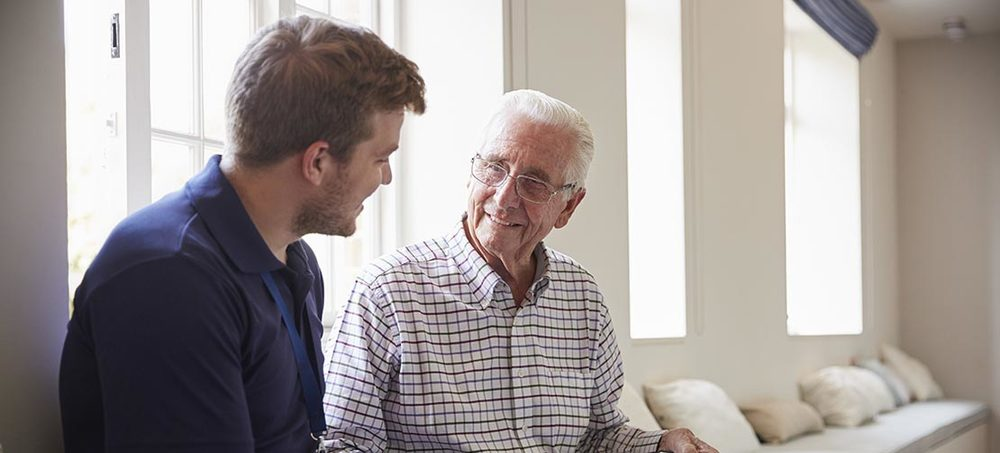 No job for a young man? Social care career myths busted